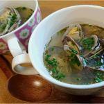 オッシャレなイタリアン風でもイケます アカモクとアサリのスープ Fujishima's recipe