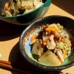 アカモク入りツナと大根のすき焼き風煮