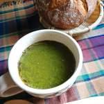 アカモク・セロリ・ベーコンのグリーンスープ ~すっごいスープできました~