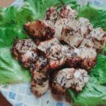 【アカモクレシピ】鶏胸肉のアカモク塩麹漬け