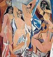 Пабло Пикассо - «Авиньонские девушки», 1907