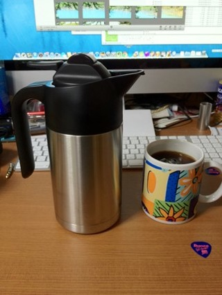 Thermos coffee maker