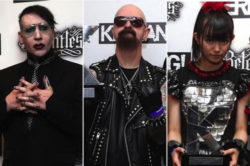 Marilyn Manson Judas Priest BabyMetal