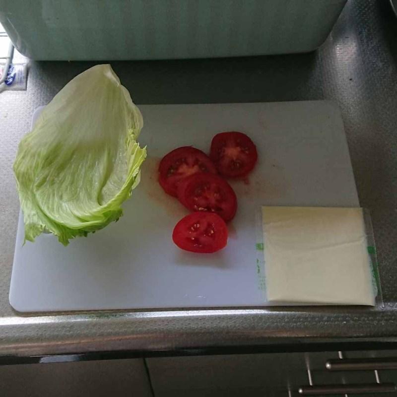 マルシンハンバーグクワトロバーガーを作ってみた
