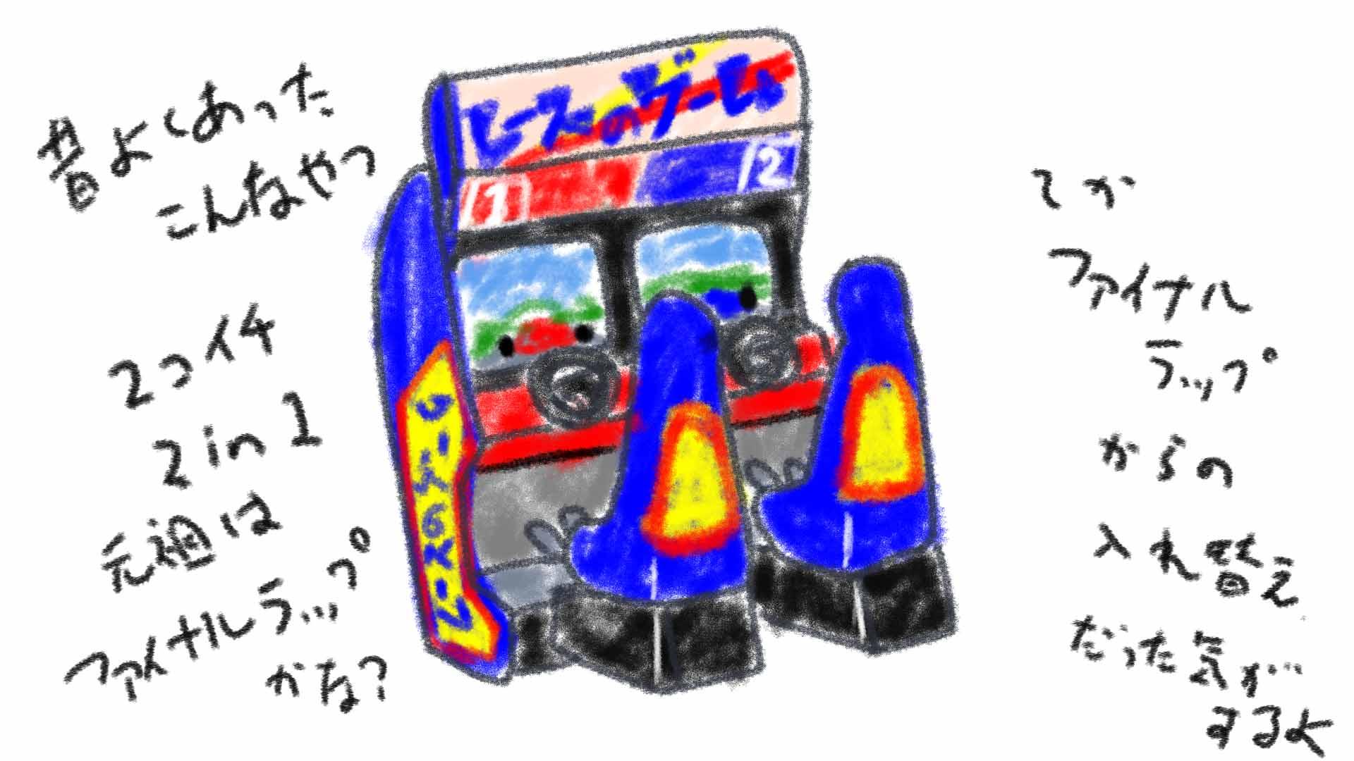 2in1のレースゲーム
