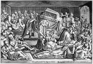 Plague in Leiden