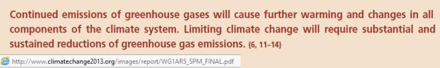 IPCC More GHG