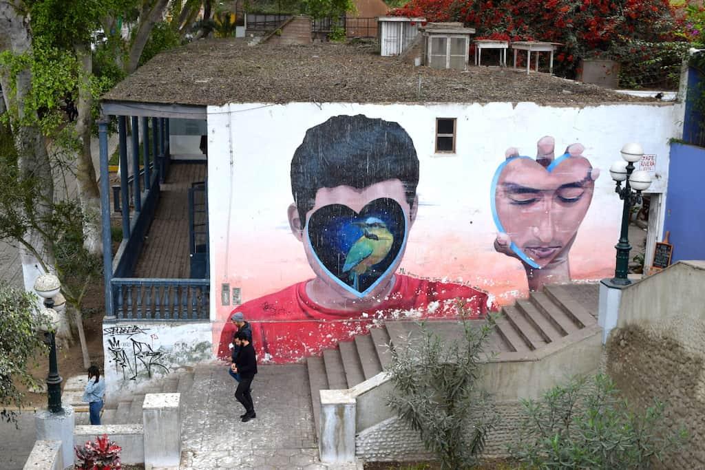 Street art in Barranco, Lima: Peru's murals neighborhood (w/ pics!)