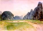 Tam cốc - Bích Động - Hoa Lư - Ninh Bình - 1993