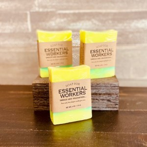 essential workers soap