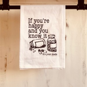 funny dish towel for sale