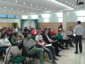 Sesión Toastmasters Málaga en CITIC