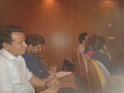 Asistentes y participantes a la sesión de Toastmasters Málaga