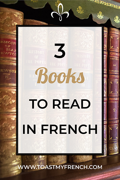 3 books to read in French