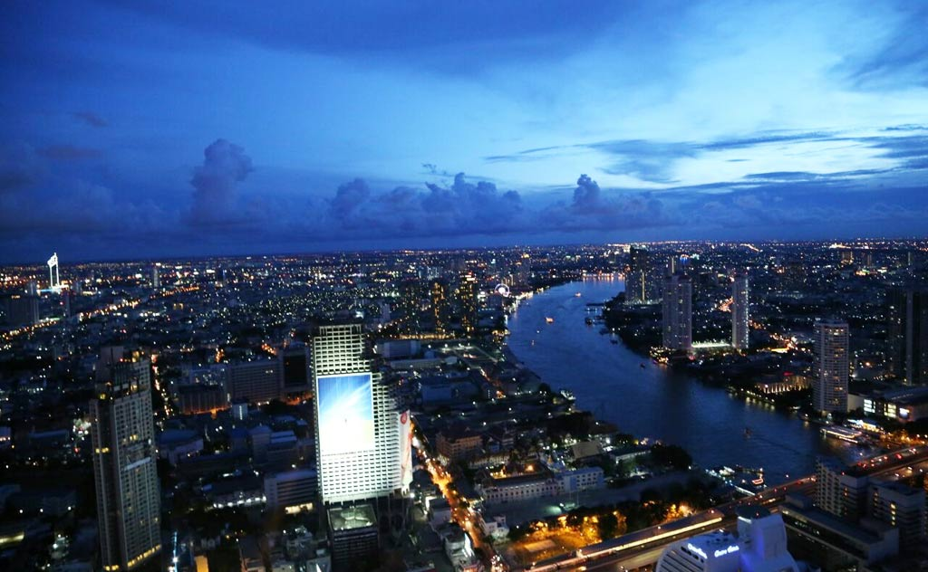 View from Sky Bar, Bangkok
