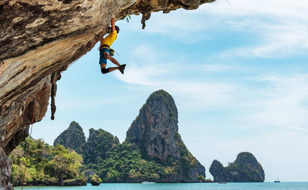 Rock-climbing: Best things to do in Thailand