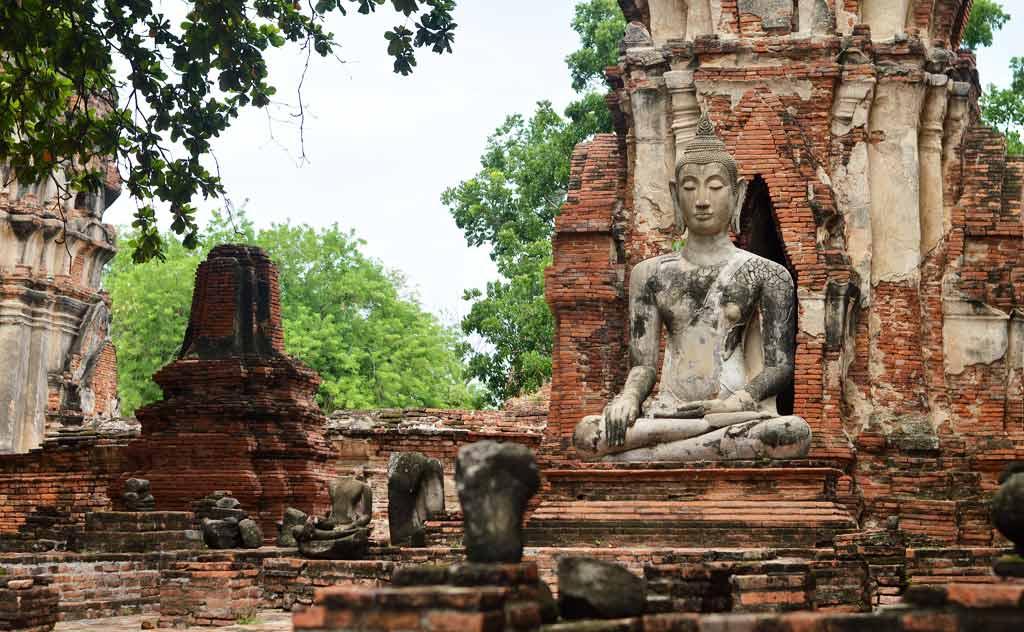 Ayutthaya Famous Temples: Wat Mahathat