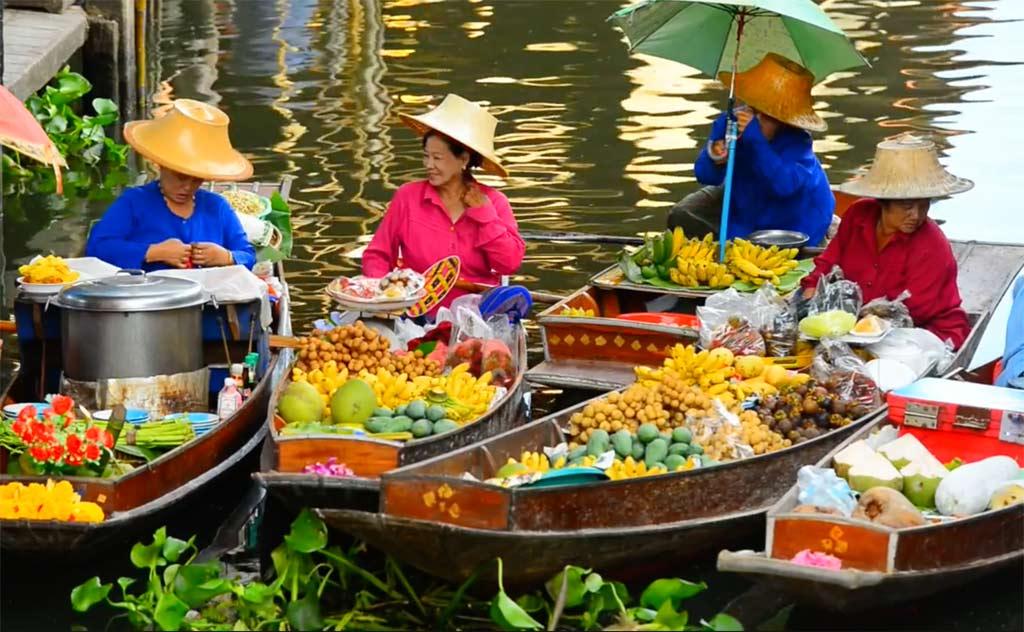 Floating Market, Ayutthaya, Thailand