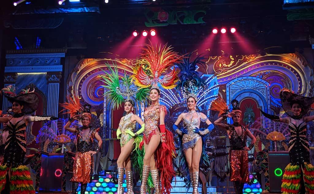 Alcazar Show Pattaya- Thailand's world-famous transgender cabaret show