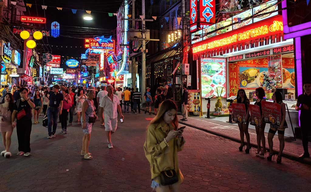 Walking Street in Pattaya Bars