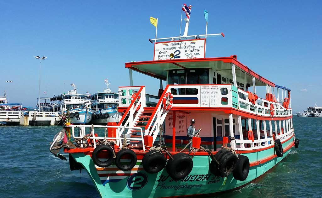 Ferry: Koh Larn to Pattaya