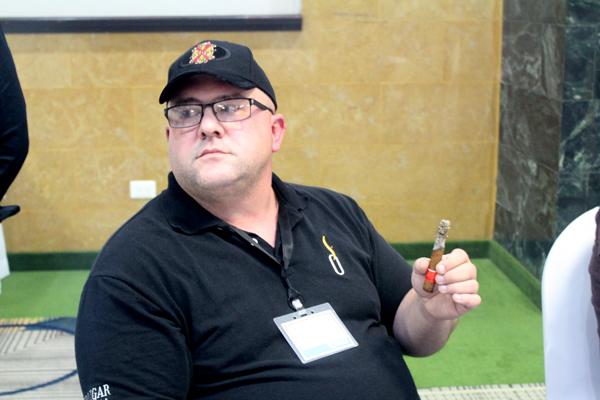 Christian Hutson, Cigar Smoking World Championship