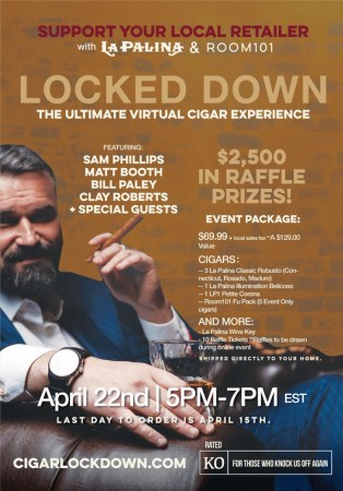 La Palina and Room 101 Announce Lock Down Program and Virtual Telethon