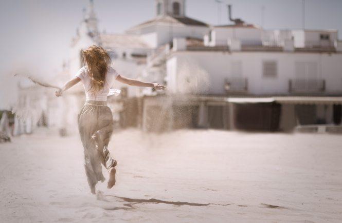 Жена тича боса