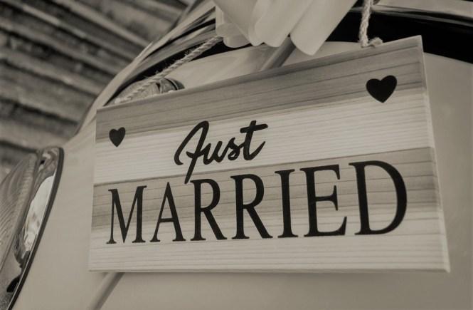 Сигурност ли е брака. Сватбена кола