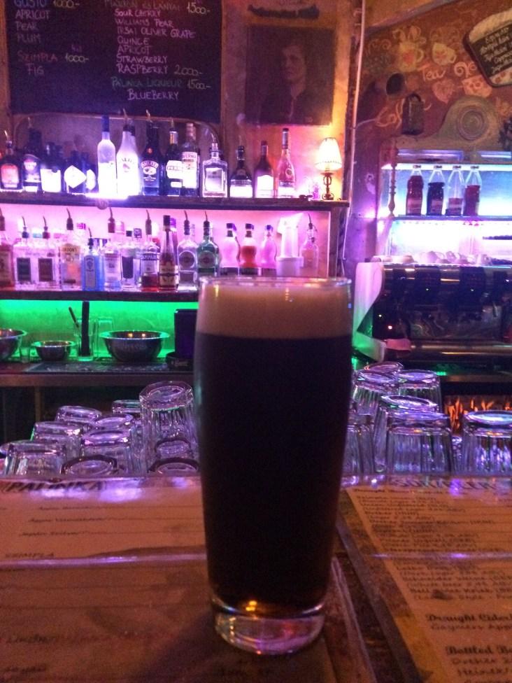 Beer in Szimpla Kert Ruin Bar