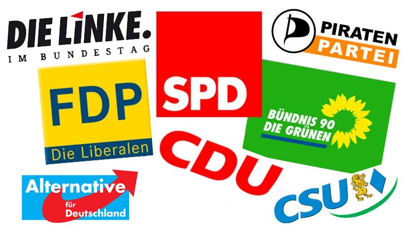 Bildergebnis für Bilder deutscher Parteilogos