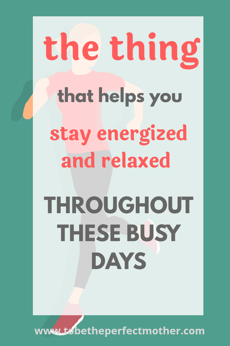 How to stay energized and powered throughout these busy days?