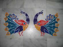 rangolipeacocks