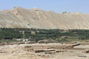 View from Bamiyan Buddhas