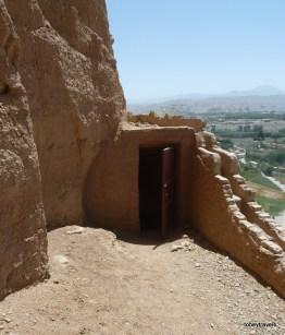 Top of Large Bamiyan Buddha