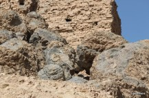 Borsippa Ziggurat fused rock
