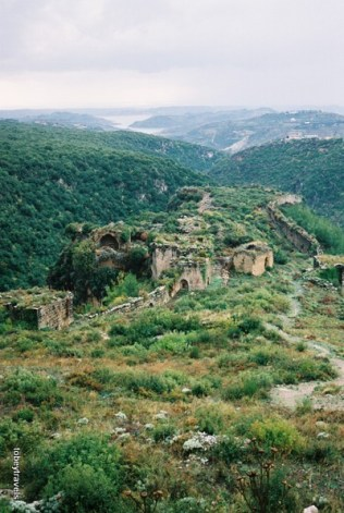 View from Crac des Chevaliers