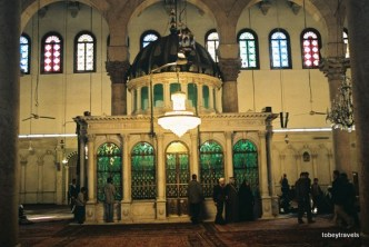 Umayyad Mosque St John the Baptist Tomb