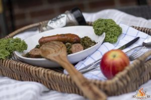Grünkohl aus dem Dutch Oven