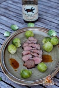 mariniertes Tafelspitz Steak vom Grill