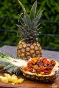 Ananas Spare Ribs Bowl