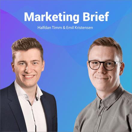 Marketing Brief er en af de top 10 podcasts på min liste