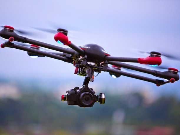 recupero drone