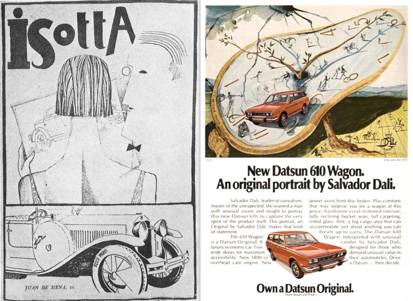 Dali Isotta Fraschini 1926 & Datsun 1972