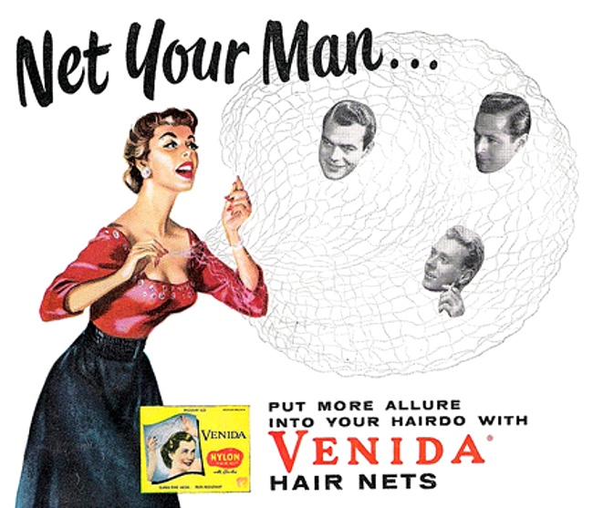 Venida hair net ad