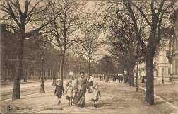 Bruxelles avenue louise femme et enfants