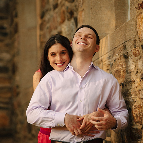Stefanie and Zinovy's Engagement Shoot at Mepal Manor & Spa, New Marlborough, Massachusetts
