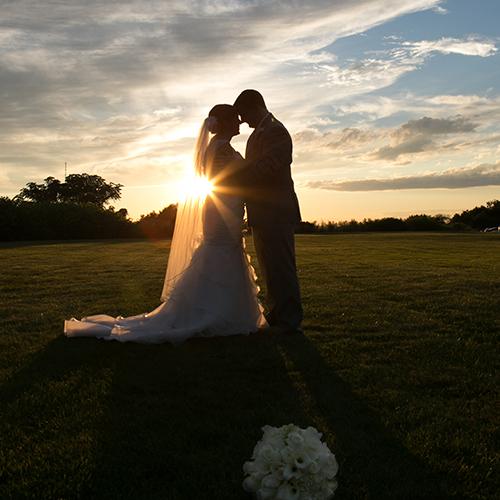 Caroline and Rob's Quincy, Massachusetts wedding at the Tirrell Room