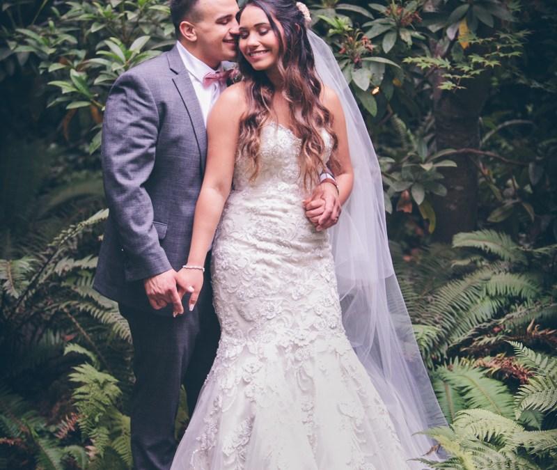 Alexis and Jesse's Secret Garden Weddings in Bodega Bay, CA