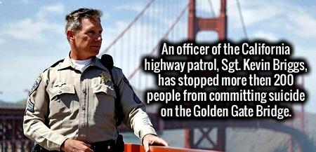 bridge cop